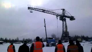 crash d une grue a tour