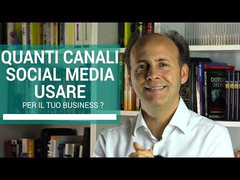 Web Marketing: Quanti Canali Social Media Usare? | Marco Scabia | 116 di 365