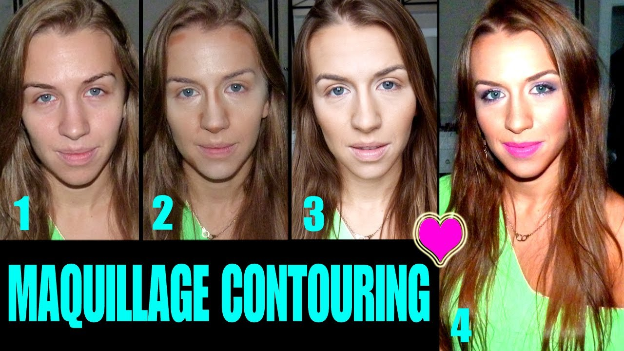 contouring comment sculpter son visage youtube. Black Bedroom Furniture Sets. Home Design Ideas