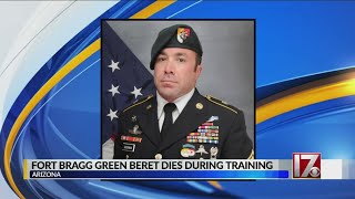 Fort Bragg Green Beret dies during training exercise