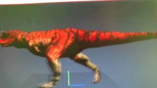 New carnotaurus for Carnivores 2 PC game preview