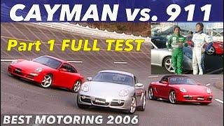 「全開テスト」ポルシェケイマンは911を超えられるのか!?【Hot-Version】2006