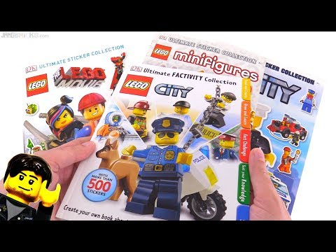 Four more LEGO Ultimate Sticker books by DK