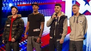 The Mend - Britain's Got Talent 2012 audition - UK version