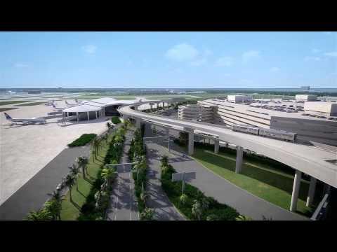Virtual Tour of Tampa International Airport Expansion - Part 1
