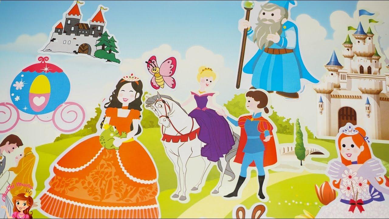 Barbie Princess Doll Castle Disney Princess All Together Kids