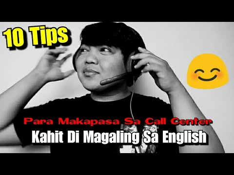 10 Tips Para Makapasa Sa Call Center Kahit Di Magaling Sa English