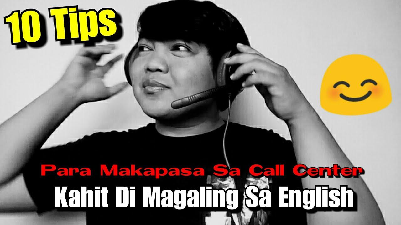 10 Tips Para Makapasa Sa Call Center Kahit Di Magaling Sa English Youtube