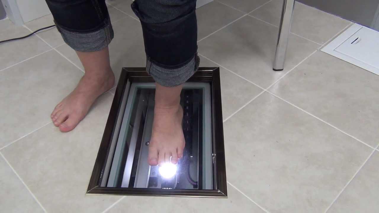 3D сканирование стопы - YouTube