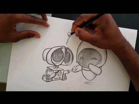 Dibujo de Amor a Lápiz Facil de Hacer Para Mi Novia