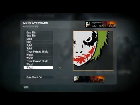 Black Ops: Emblem Tutorial Best Joker Online v2