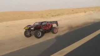 HPI BAJA 5T RC - CRASH AT HIGH SPEED
