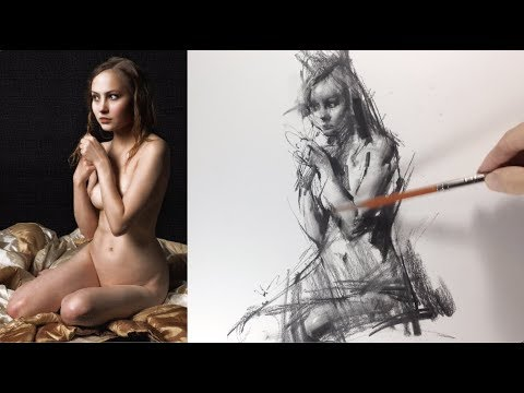 Nude Figure Drawing