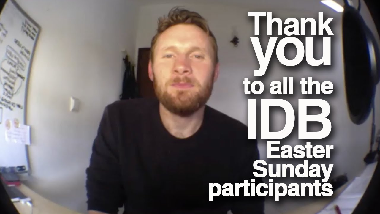 Thank you to all the IDB participants!
