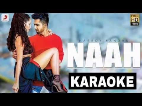 Naah Karaoke Instrumental Hardy Sandu | Latest Punjabi Songs Karaoke