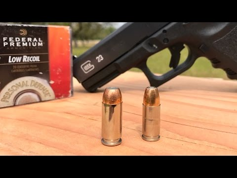 9MM VS 40 HOLLOW POINTS