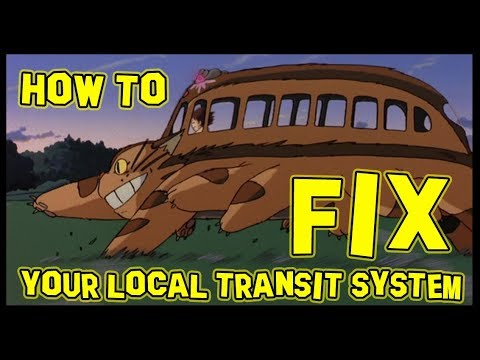 How to Fix Your Local Public Transit System 🚌