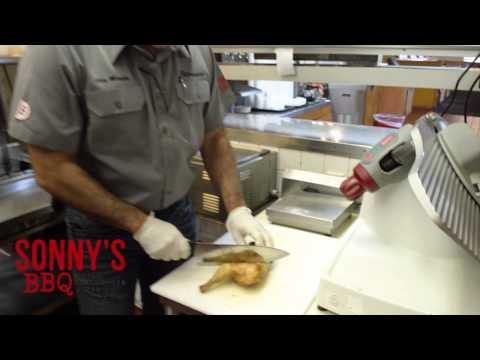 Sonny's BBQ: Smoking Chicken