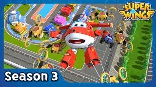 Send in the Drones | super wings season 3 | EP37