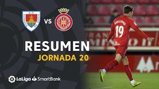 Resumen de CD Numancia vs Girona FC (2-0)