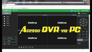 Como acessar DVR pelo computador