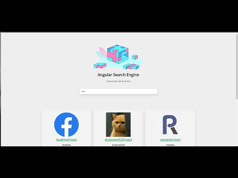 Build A Search App Using Angular 8 And RxJs #1 ( Setup )
