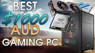 Best $1000 AUD (Australian) PC Build | Play games at 1440p, 4k | Includes GTX 980 ti & Intel i5