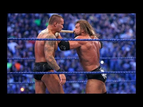 Triple H Vs Randy Orton WWE Wrestlemania 25