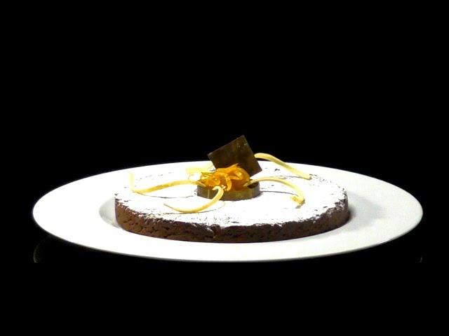 Torta al cioccolato Noalya e arancia