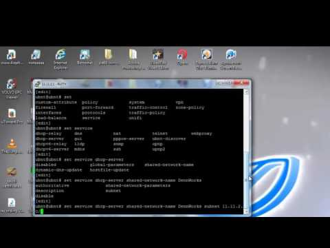 Unifi Tutorial 2: Configure DHCP and DNS in USG via SSH