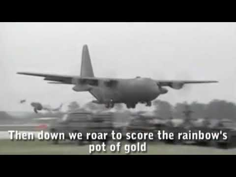 the whole US air force song, on repeat for one hour