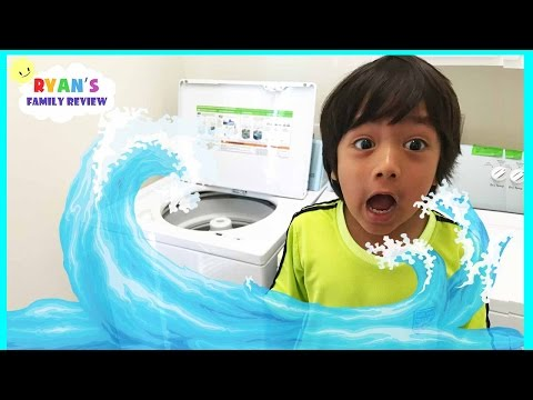 Ryan's House Flooded! Washing Machine gone horribly wrong!