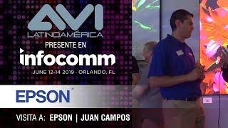 Visita a Epson durante  InfoComm Orlando 2019