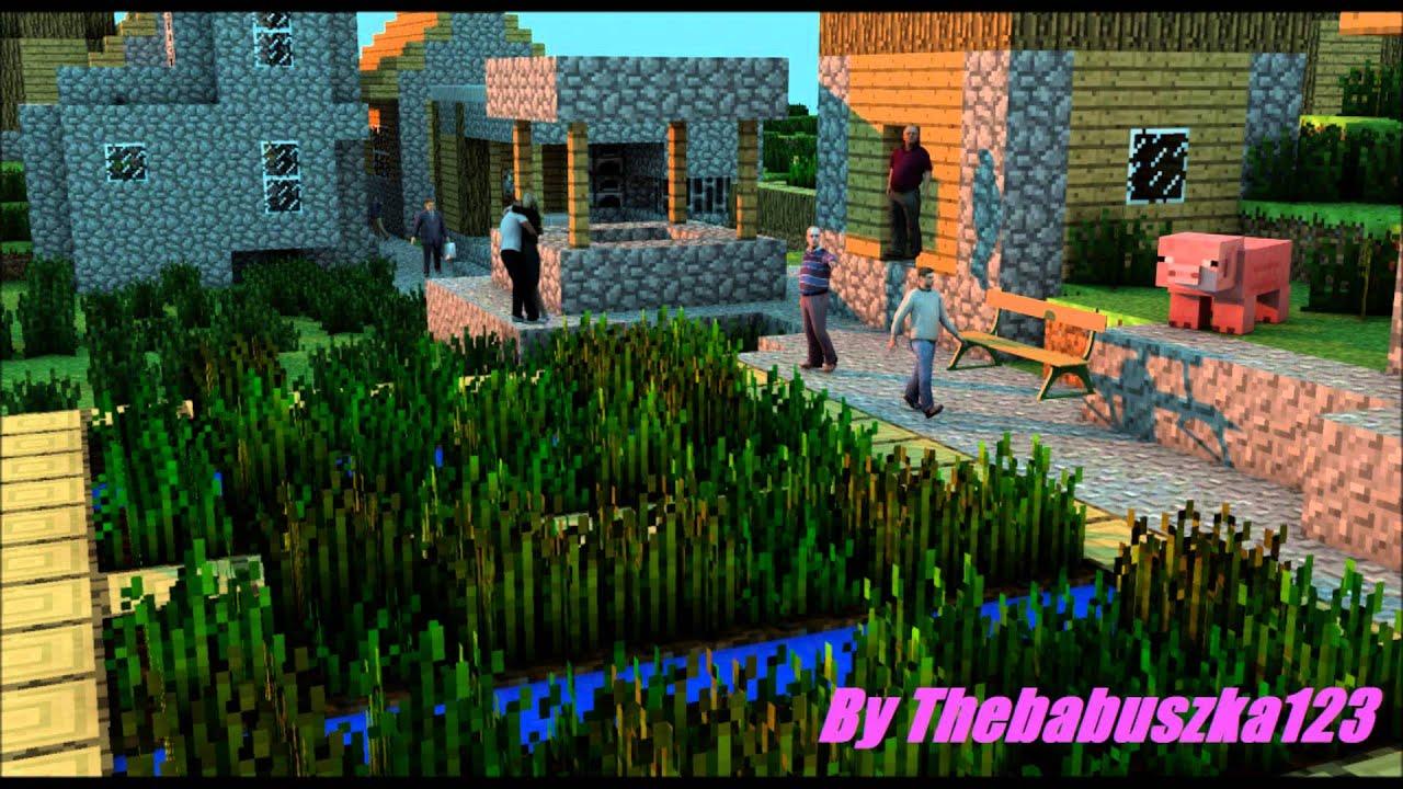 Minecraft Wallpaper 3d Herobrine Cinema 4d Tapety Ludzie W Minecraft 2 Youtube