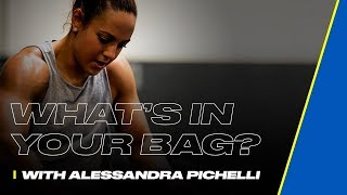 What's in Your Bag - Alessandra Pichelli