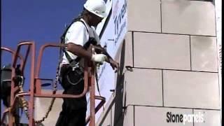 Stone Panels, Inc. - Typical Panel Installation
