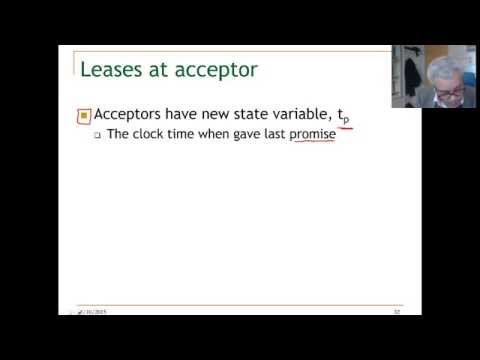 lecture 13. Unit 3 clock drift in the lease algorithm