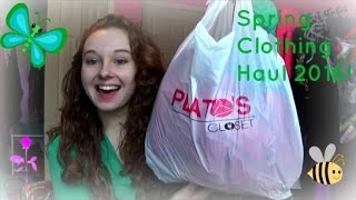 Spring Thrift Store Clothing Haul 2016!