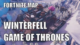 Winterfell Game of Thrones | Fortnite Map CODE