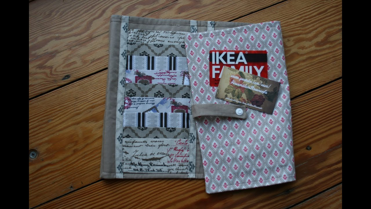 Kartenorganizer Nähen Brieftasche Für Kundenkarten