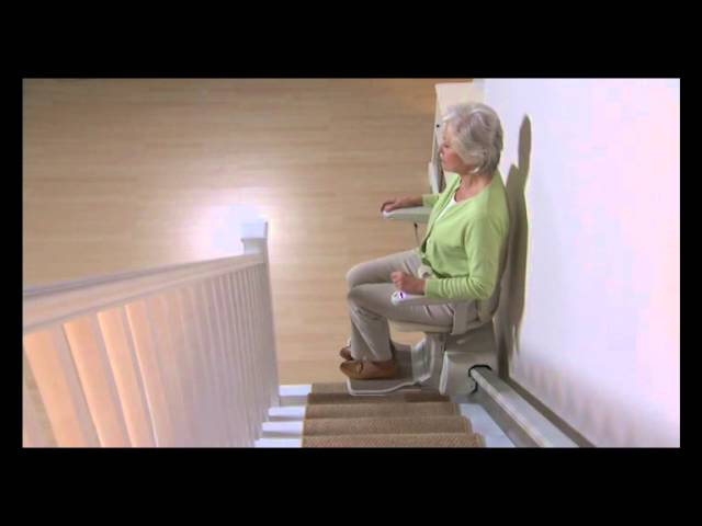 Siena 600  - Moving with ease in your Stannah Siena stairlift