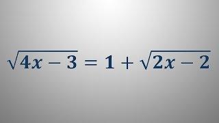 Iracionalna enačba 5
