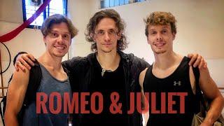 Romeo & Juliet - Sergei Polunin - Arena di Verona (BACKSTAGE)   TheBalletTwins
