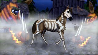 Turning Spirit Into A Halloween Horse Star Stable Speed Edit