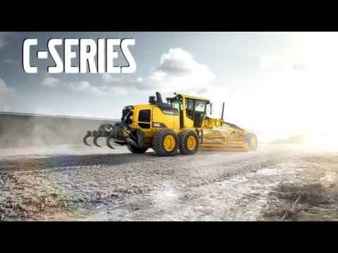 Volvo C-series Motor Graders Promotional Video