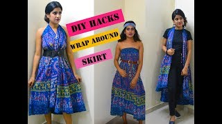 How to style skirt in different ways    Simple dress style   Radhika Bindal