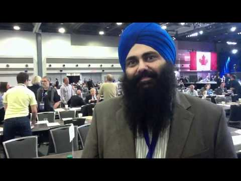 Stephen Taylor interviews Minister Tim Uppal