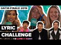 Keiner kennt Shawn?! Jonas Brothers & mehr Stars vom GNTM Finale 2019 machen die Lyric Challenge