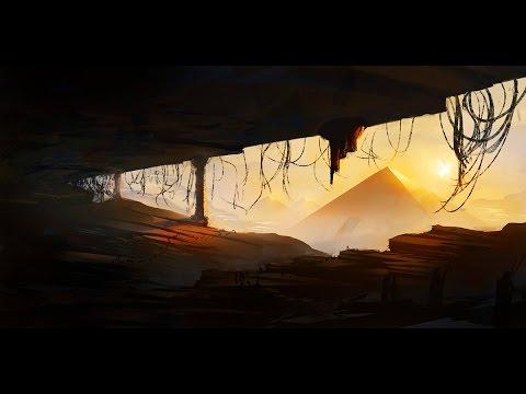 Sketch Painting: Pyramids (SAI)