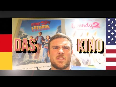 My First Time At A German Movie Theater (DAS KINO)